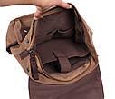 Рюкзак текстильный городской 6075-2COFFEE коричневый, фото 7