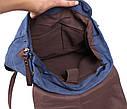 Синий рюкзак из качественного материала 6075-3BLUE Синий, фото 6