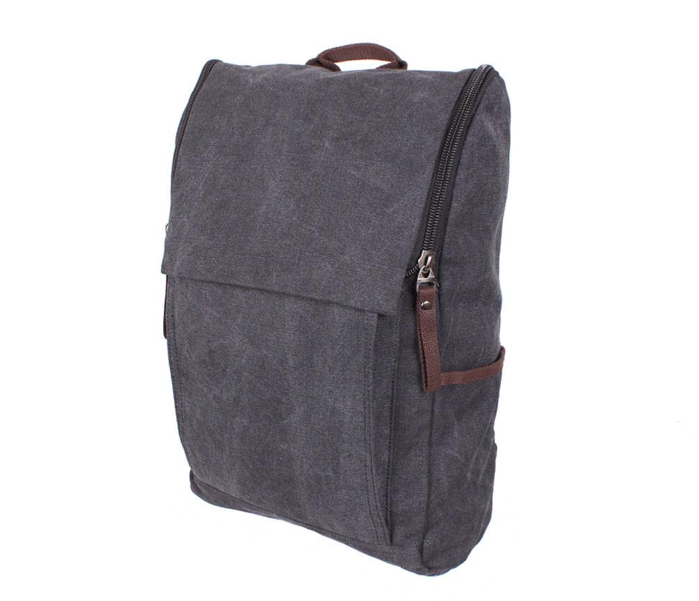 Рюкзак текстильный городской 8154-1BLACK ченый