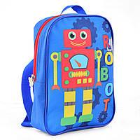 Рюкзак детский K-18  Robot, 24.5*17*6