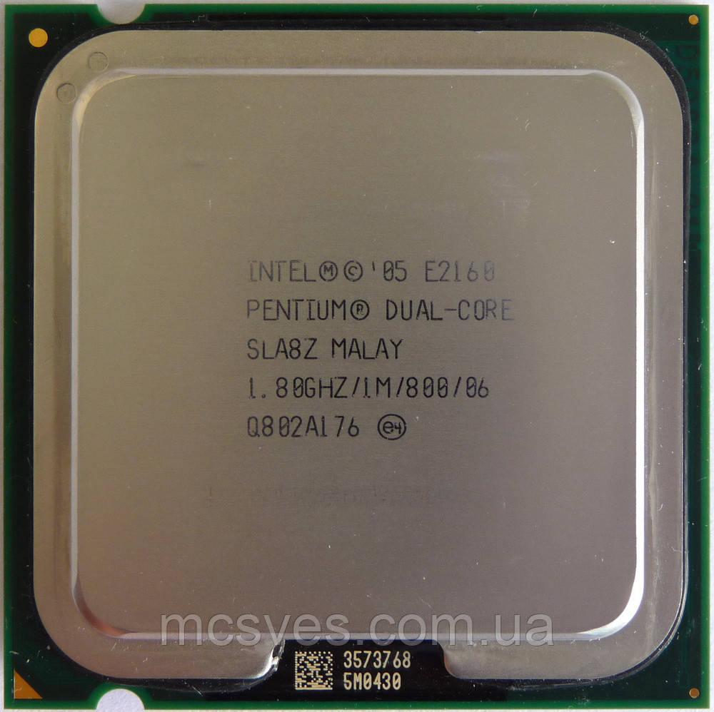 Процессор Intel Core 2 Duo E2160 1.60GHz/1M/800, s775, tray, Malay