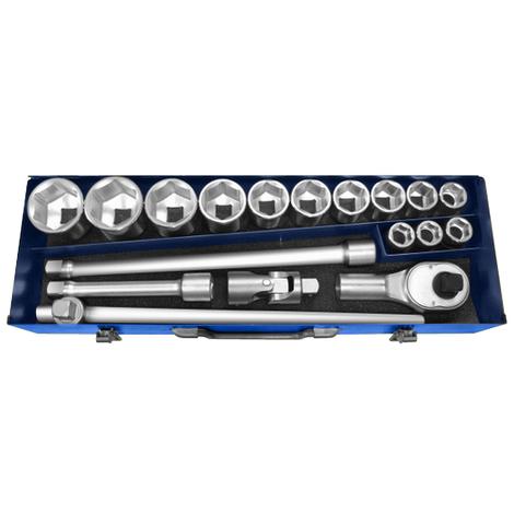 """Набор инструментов 3/4"""" 20 ед (головки: 19 - 55 мм) Stanley Expert E194683"""
