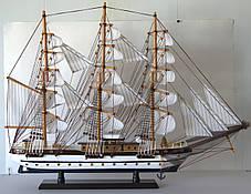 Парусник сувенирный, деревянный 78*11*59 см(высота) FJ8003. Одесса, фото 3