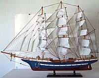 Парусник сувенирный, деревянный 80*15*61см(высота) 8039 . Одесса