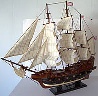 Парусник сувенирный, деревянный 78*14*67см(высота) 8346-80 . Одесса