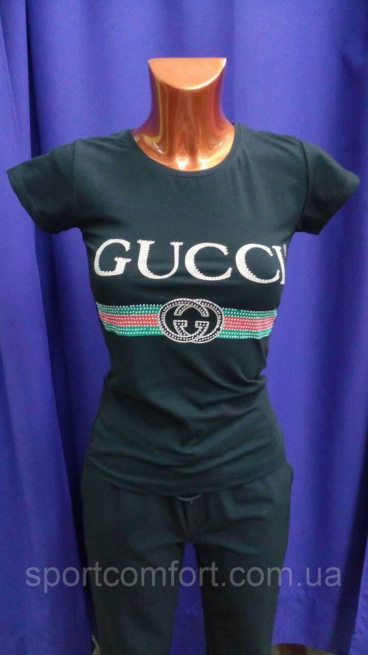 Футболка Gucci черная, белая