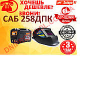 Сварочный инвертор Дніпро-М САБ-258ДПК + маска сварщика Forte