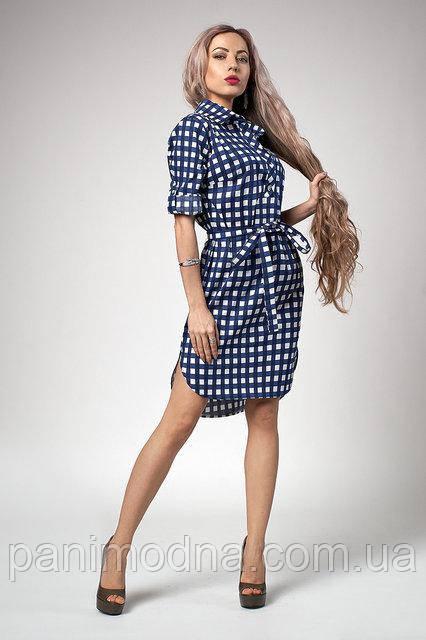 Модное платье из хлопка натурального. Мода лето 2018