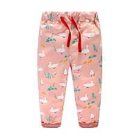 Штаны для девочки Лебеди Jumping Meters