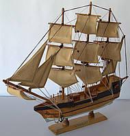 Парусник сувенирный, деревянный 45*6*38см(высота)  . 45858 Одесса