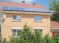 3360W48V-5000W220V солнечная электростанция для дома