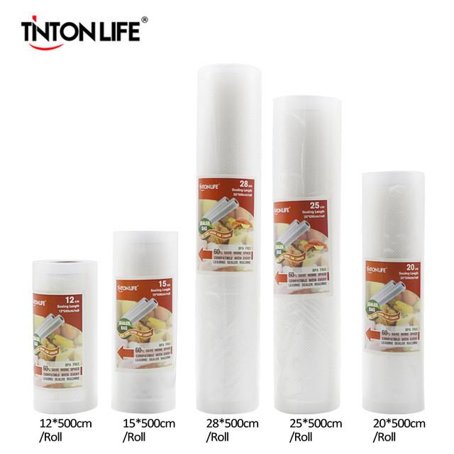 Вакуумные пакеты 12,15,20,25*500 см TINTON