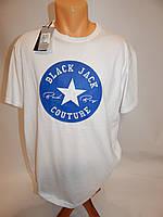 Мужская футболка Black Jack21 оригинал (сток) р.52  056Ф , фото 1
