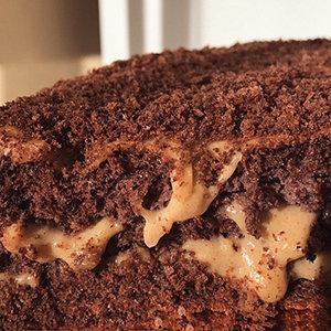 """Торт """"Шоколадное сгущенное молоко"""""""