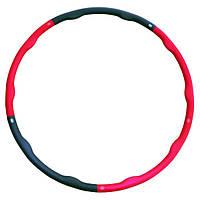 Обруч гимнастический Хула Хуп складной SPART Hula Hoop обруч здоровья / кольцо для пилатеса и йоги