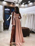 """Женское коктейльное платье с ассиметричной юбкой """"Мерси"""""""