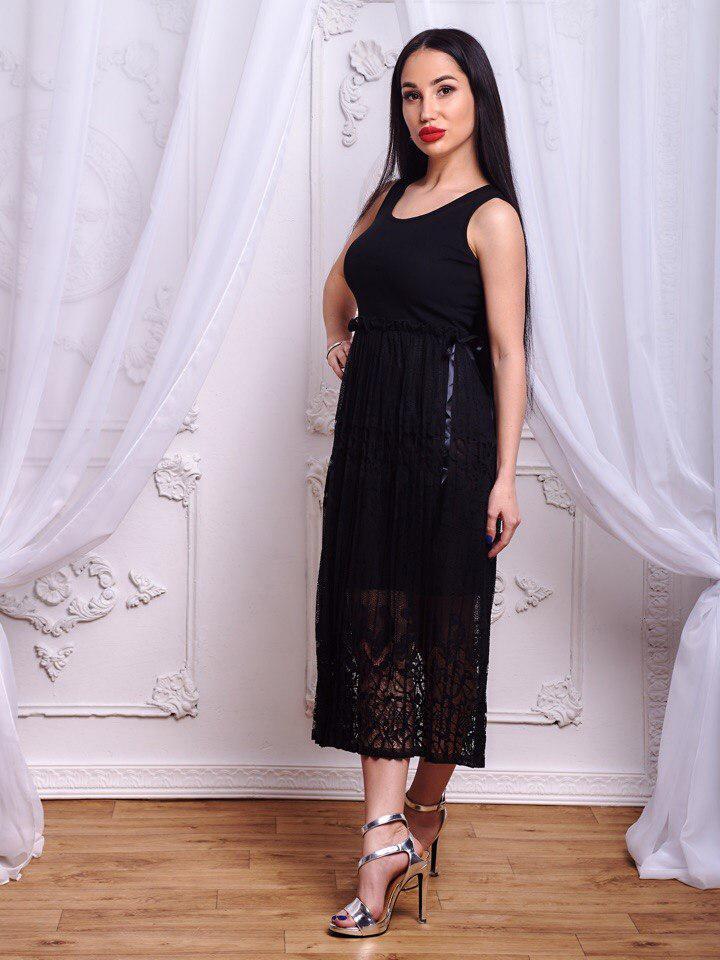 Шикарное платье .(645)