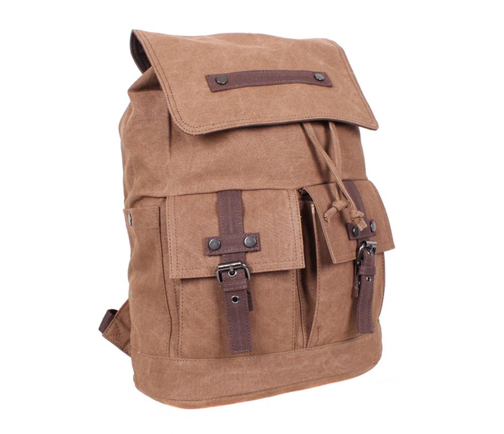 Качественный рюкзак 8634-2COFFEE Коричневый