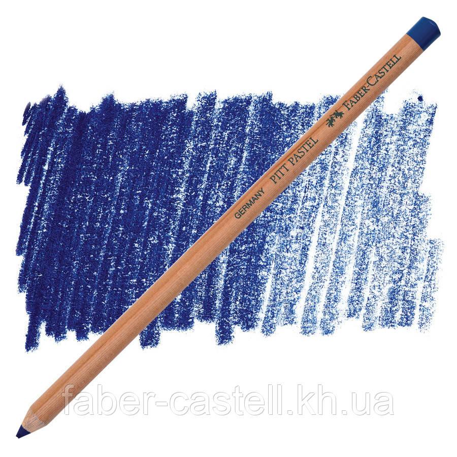 Пастельний олівець Faber-Castell PITT геліо синій ( pastel helioblue-reddish) № 151, 112251