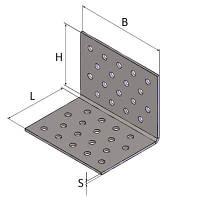 Уголок крепежный Kolchuga 100x100x60x2.5 мм