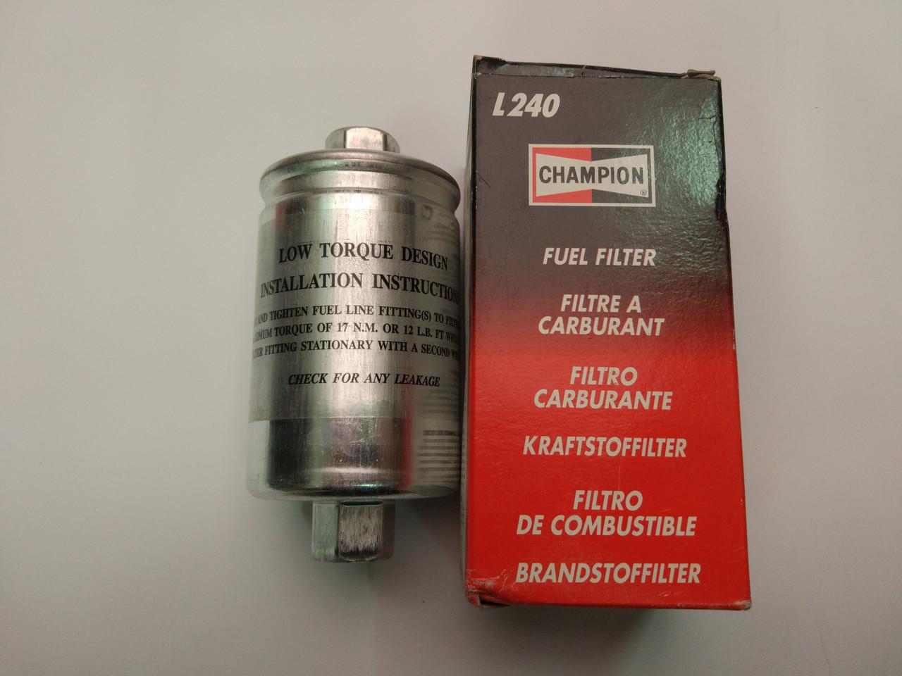 Фільтр палива (2110) інжекторний (різьба) CHAMPION