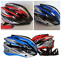 Шлем велосипедный Soldіer SPORT,велошлем с регулируемым размером 54-64 см,велосипедний шолом