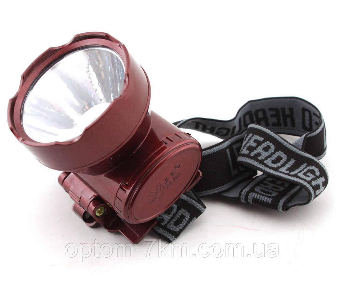 Светодиодный фонарик на голову аккумуляторный Yajia YJ-1898-1 am