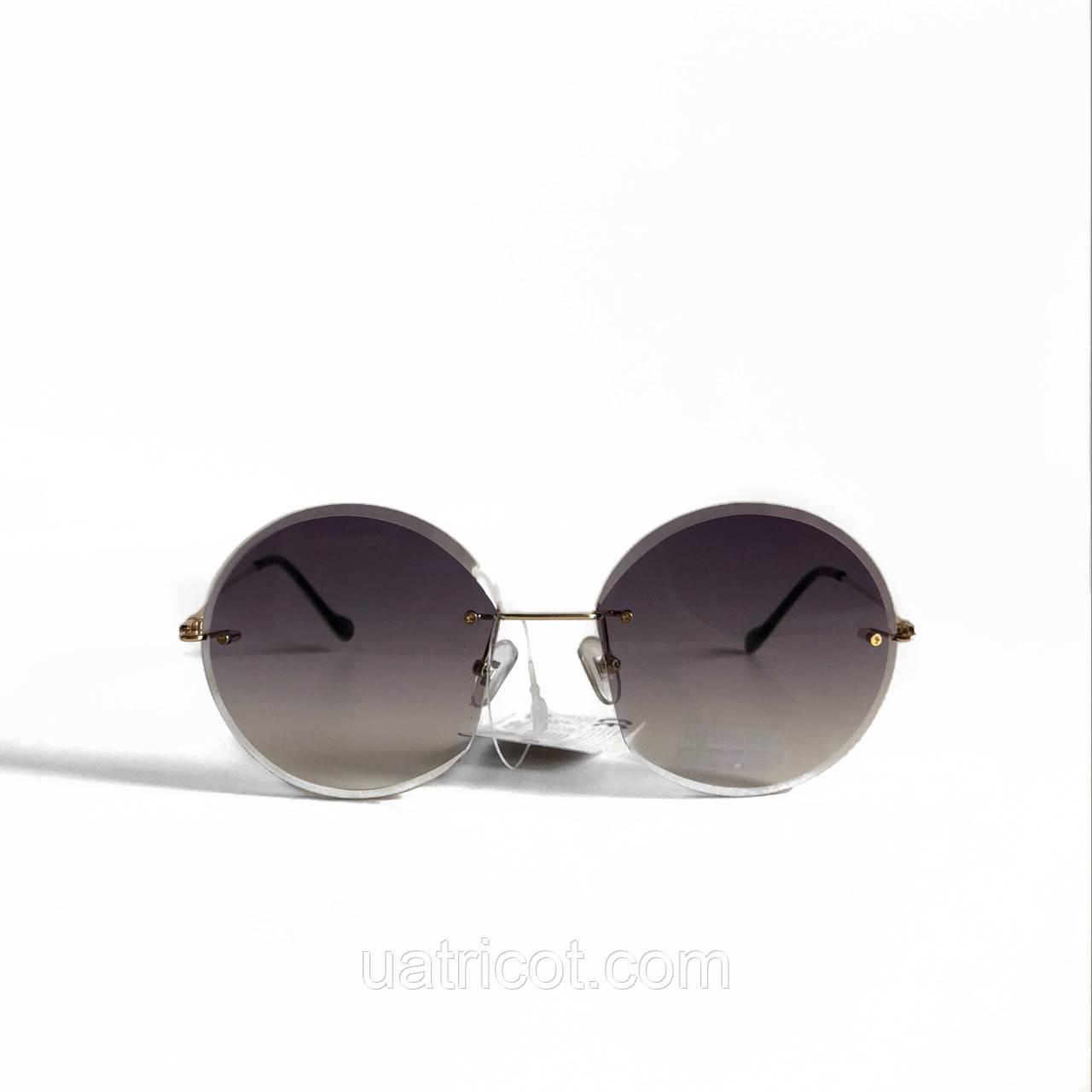 Женские безоправные солнцезащитные очки Rainwalker