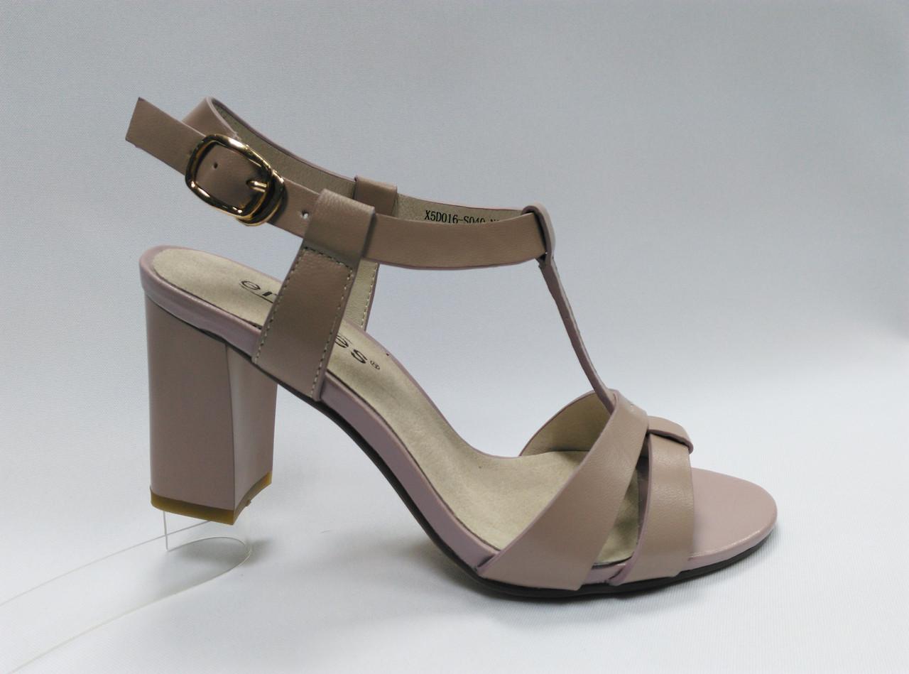 Открытые  босоножки на каблуке Erisses. Маленькие (33 - 35) и стандартные (36 - 40) размеры .