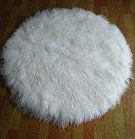 Круглые ковры из шикарного мягчайшего меха ламы