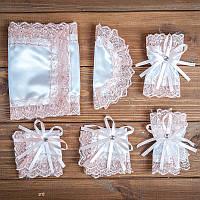 Набор для венчания цвета пудры (арт. WS-014)