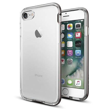 Чехол-накладка Spigen Neo Hybrid Crystal для Apple iPhone 7 серый, фото 2
