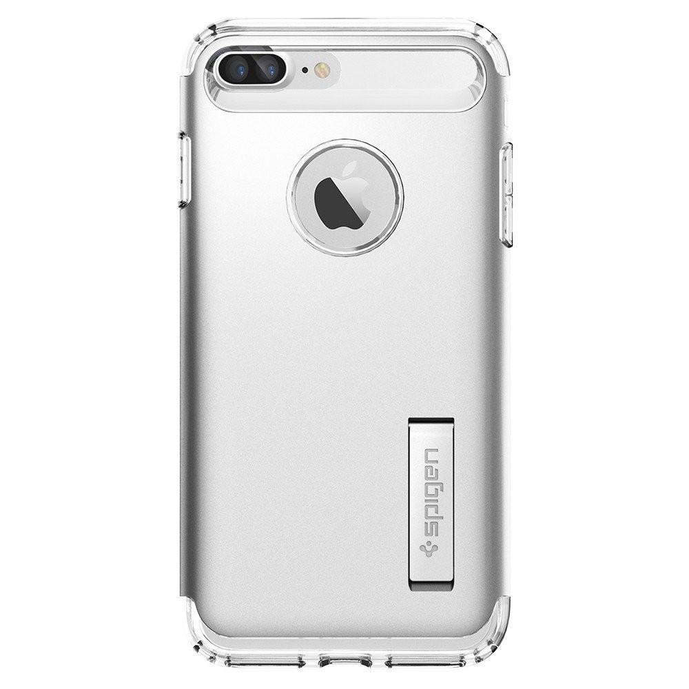 Чехол-накладка Spigen Slim Armor для Apple iPhone 8 Plus/7 Plus серебристый