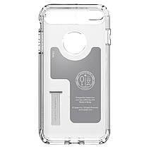 Чехол-накладка Spigen Slim Armor для Apple iPhone 8 Plus/7 Plus серебристый, фото 3