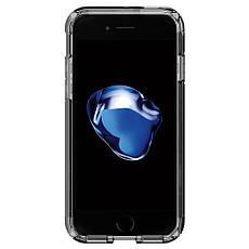 Чехол-накладка Spigen Tough Armor для Apple iPhone 7 чёрный, глянцевый, фото 3