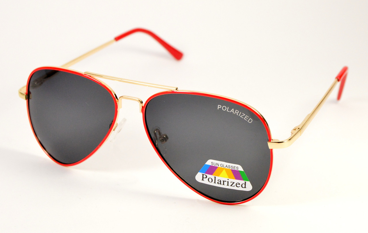 Солнцезащитные очки авиатор Polarized (Р972 к)