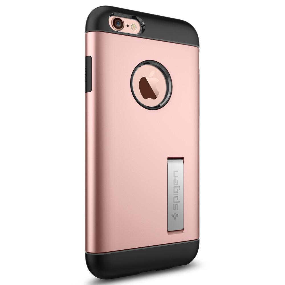 Чехол-накладка Spigen Slim Armor для Apple iPhone 6S/6 розовое золото