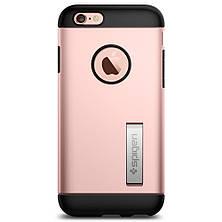 Чехол-накладка Spigen Slim Armor для Apple iPhone 6S/6 розовое золото, фото 2