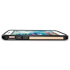 Чехол-накладка Spigen Tough Armor для Apple iPhone 6S/6 золотистый, фото 3