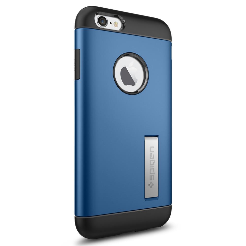 Чехол-накладка Spigen Slim Armor для Apple iPhone 6S/6 голубой