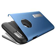 Чехол-накладка Spigen Slim Armor для Apple iPhone 6S/6 голубой, фото 2