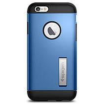 Чехол-накладка Spigen Slim Armor для Apple iPhone 6S/6 голубой, фото 3