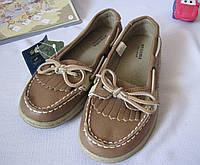 Туфли для девочки весна лето Sonoma размер 32 коричневые 08010, фото 1