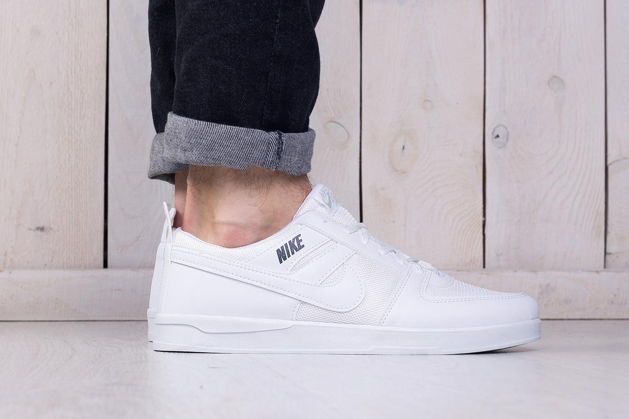 80e28a59 Кеды белые мужские низкие Nike sb white (реплика) - купить по лучшей ...
