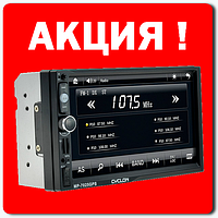 "Автомагнитола-Навигатор CYCLON MP-7025 GPS 2 DIN дисплей 7"" Bluetooth MP-5 плеер"