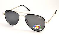 Солнцезащитные очки авиатор Polarized (Р973 ч)