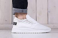 Мужские кроссовки летние сетка PUMA TSUGI SHINSEI WHITE (реплика)