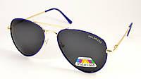 Сонцезахисні окуляри авіатор Polarized (Р975 сін)