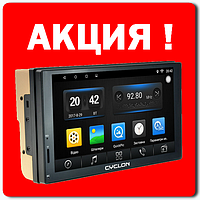 "Автомагнитола-Навигатор 7"" CYCLON MP-7037 GPS Android дисплей 7"" Bluetooth WiFi"