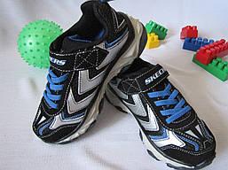 Кроссовки с LED-подсветкой Skechers оригинал размер 30 черные 08007
